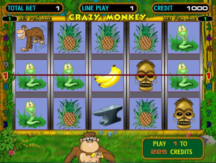Crazy Monkey Slot Machine: Play Online and Review