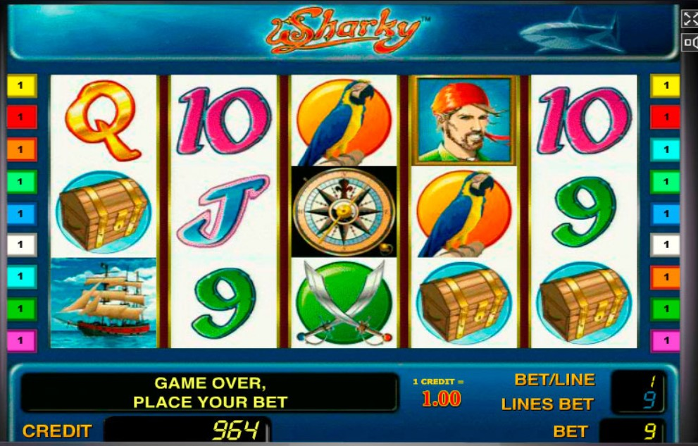 Sharky Slot Machine: Play Online and Review