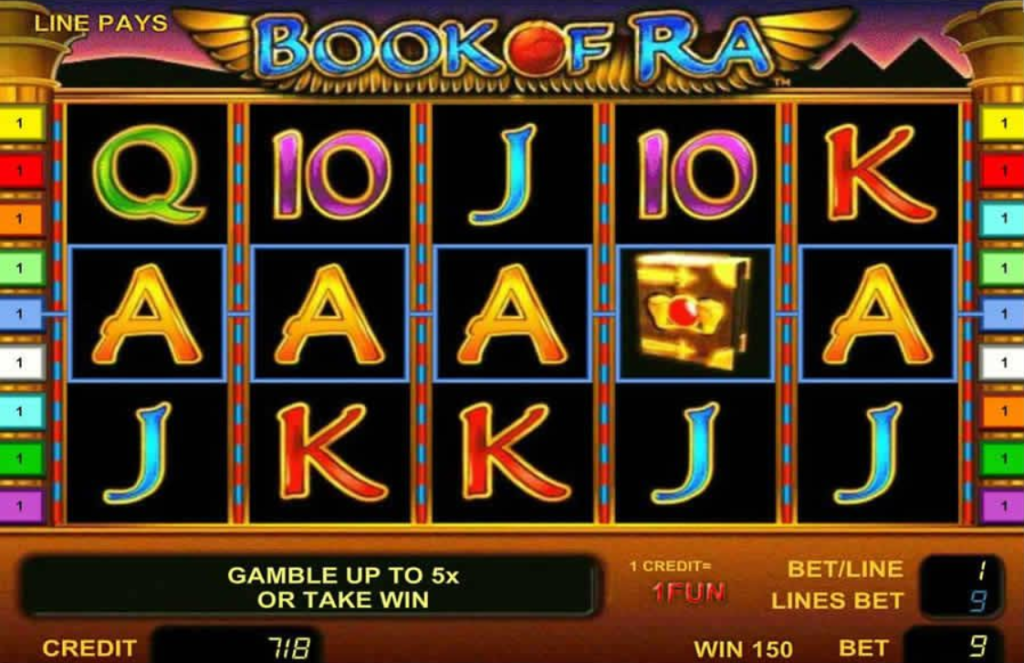 Book of Ra Slot Machine: Play Online and Review