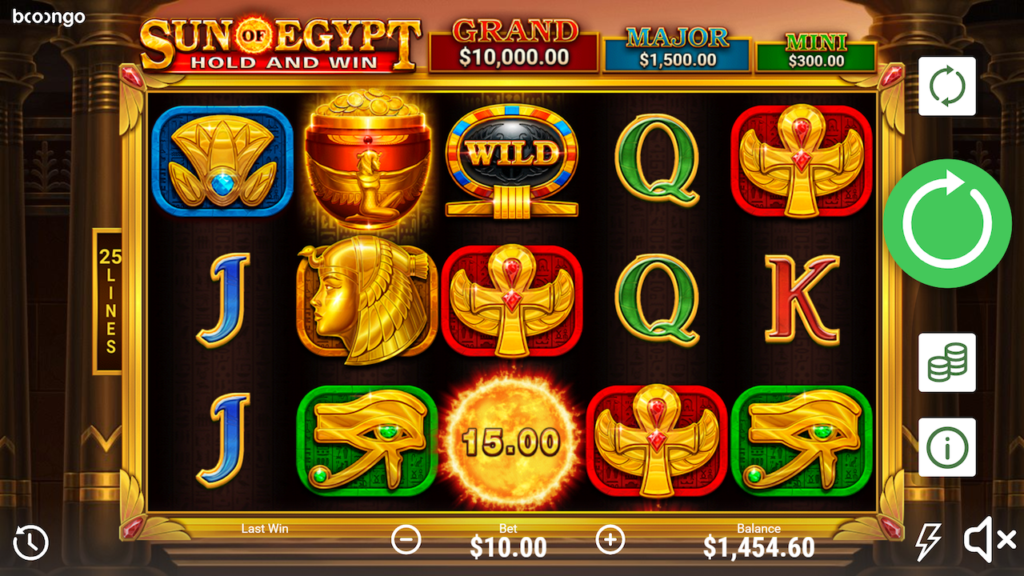 Sun of Egypt Slot Machine: Play Online and Review
